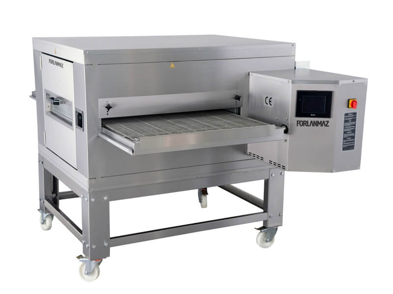 Conveyor oven for pizza