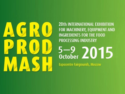 AGROPRODMASH 2015 Moscow / Russia